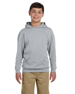Oxford Youth 8 oz., 50/50 NuBlend® Fleece Pullover Hood