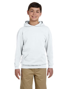 Ash Youth 8 oz., 50/50 NuBlend® Fleece Pullover Hood