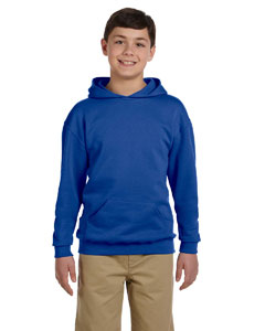 Royal Youth 8 oz., 50/50 NuBlend® Fleece Pullover Hood