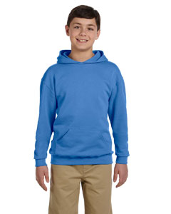 Columbia Blue Youth 8 oz., 50/50 NuBlend® Fleece Pullover Hood