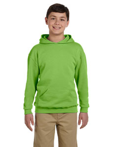 Kiwi Youth 8 oz., 50/50 NuBlend® Fleece Pullover Hood