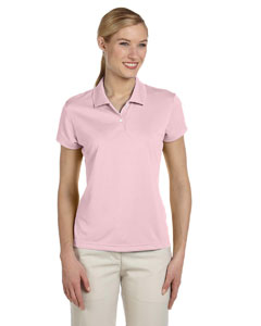 Sugar/white Women's ClimaLite® Short-Sleeve Piqué Polo