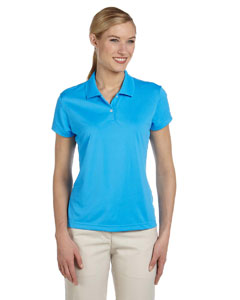 Coast/white Women's ClimaLite® Short-Sleeve Piqué Polo