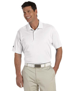 White Men's ClimaLite® Basic Short-Sleeve Polo