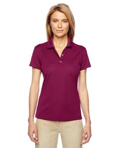 Tribe Berry/ Wht Women's ClimaLite® Basic Short-Sleeve Polo