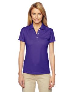 College Purple Women's ClimaLite® Basic Short-Sleeve Polo