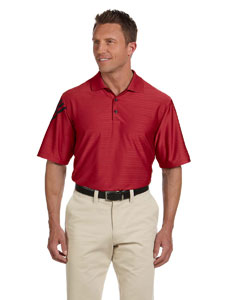 University Red/black Men's ClimaCool® Mesh Polo