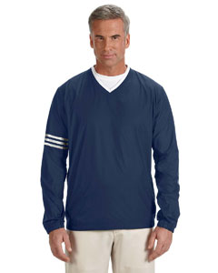 Navy/navy Men's ClimaLite® Colorblock V-Neck Wind Shirt