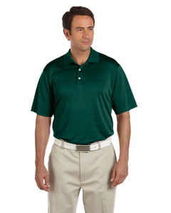 Forest Men's ClimaLite® Textured Short-Sleeve Polo