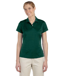 Forest Women's ClimaLite® Textured Short-Sleeve Polo