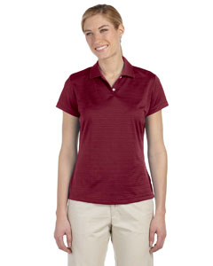 Cardinal Women's ClimaLite® Textured Short-Sleeve Polo
