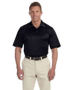 Black Heather Men's ClimaLite® Heather Polo