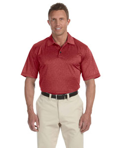 Red Velvet Heather Men's ClimaLite® Heather Polo