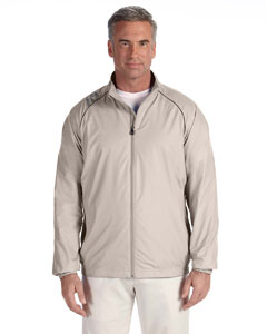 Ecru Men's 3-Stripes Full-Zip Jacket