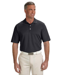 Black Men's ClimaLite® Solid Polo