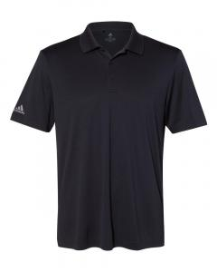 Black Men's Performance Polo