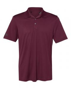 Maroon Men's Performance Polo