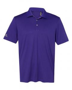 Collegiate Purple Men's Performance Polo