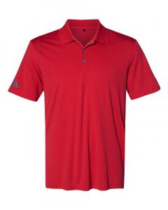 Collegiate Red Men's Performance Polo