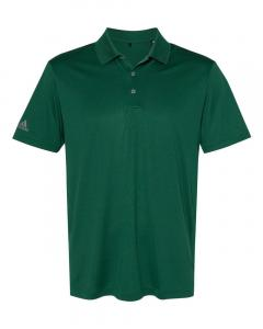 Collegiate Green Men's Performance Polo