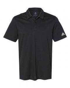 Black Men's Cotton Blend Polo