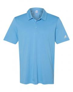 Light Blue Men's Cotton Blend Polo