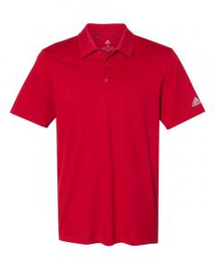 Power Red Men's Cotton Blend Polo