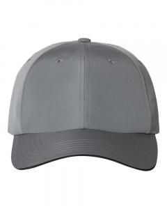 Vista Grey Unisex Performance Relaxed Cap