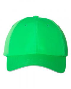 Flash Lime Unisex Performance Relaxed Cap
