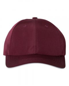 Maroon Unisex Performance Relaxed Cap