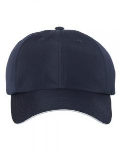 Navy Unisex Performance Relaxed Cap