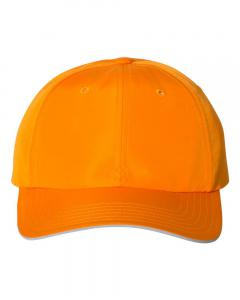 Bright Orange Unisex Performance Relaxed Cap