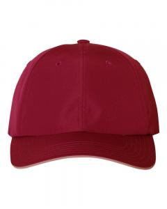 Power Red Unisex Performance Relaxed Cap