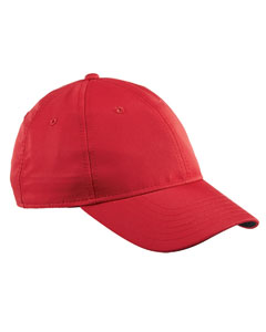 Red Performance Max Front-Hit Relaxed Cap