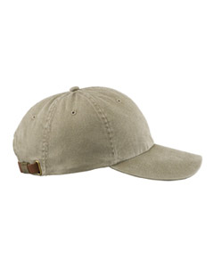 Khaki Optimum Pigment-Dyed Cap