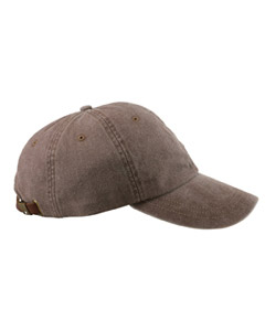Espresso 6-Panel Low-Profile Washed Pigment-Dyed Cap
