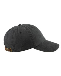 Black Optimum Pigment-Dyed Cap