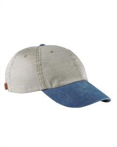Stone/royal Optimum Pigment-Dyed Cap