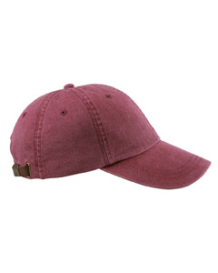 Burgundy Optimum Pigment-Dyed Cap