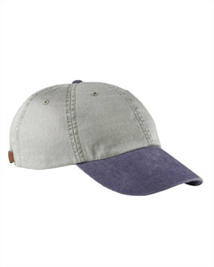 Stone/navy Optimum Pigment-Dyed Cap