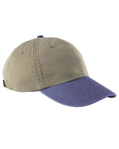 Khaki/royal Optimum Pigment-Dyed Cap