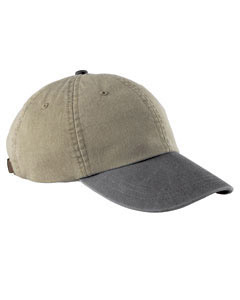 Khaki/charcoal Optimum Pigment-Dyed Cap