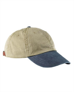 Khaki/navy Optimum Pigment-Dyed Cap