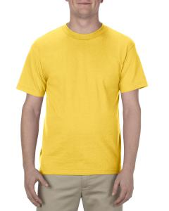 Yellow Adult 6.0 oz., 100% Cotton T-Shirt