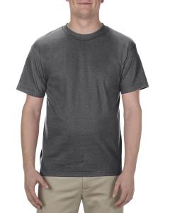 Charcoal Heather Adult 6.0 oz., 100% Cotton T-Shirt