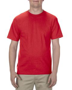 Red Adult 6.0 oz., 100% Cotton T-Shirt