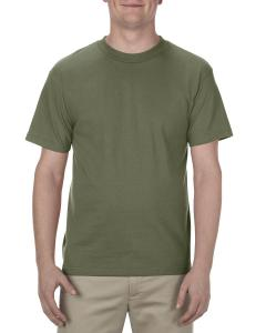 Military Green Adult 6.0 oz., 100% Cotton T-Shirt