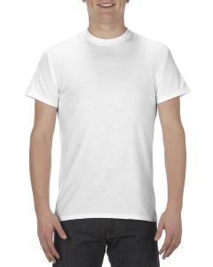 White Adult 5.1 oz., 100% Cotton T-Shirt