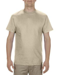 Sand Adult 5.1 oz., 100% Cotton T-Shirt