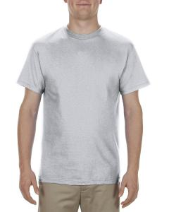 Silver Adult 5.1 oz., 100% Cotton T-Shirt